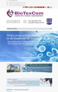 Biotexcom Centre de médecine reproductive exploite le marché algérien et cherche à recruter des rédacteurs via Emploitic pour faire de faux témoignages